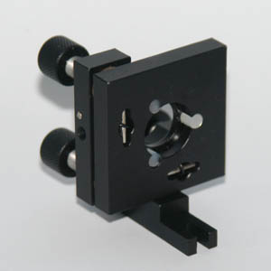 3-axis mount for 15mm dichros/optics